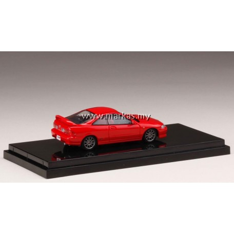 (PO) HOBBY JAPAN X MARK43 1/64 HONDA INTEGRA TYPE R (DC2) MILANO RED