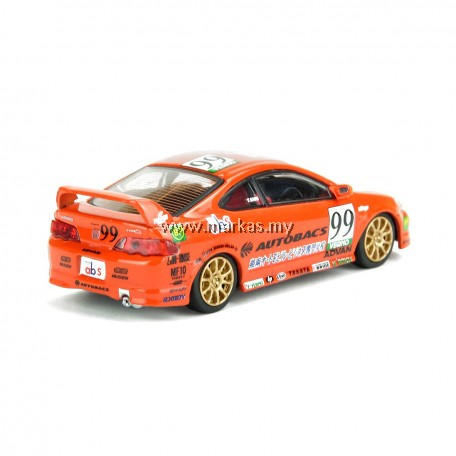 INNO-MODELS INNO64 1/64 HONDA INTEGRA TYPE-R DC5 #99 AUTOBACS VERNO JAPAN ONE MAKE RACE 2002