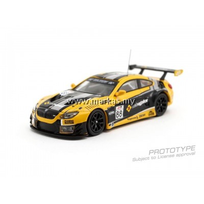 (PO) TARMAC WORKS 1/64 BMW M6 GT3 ERACING GRAND PRIX HONG KONG