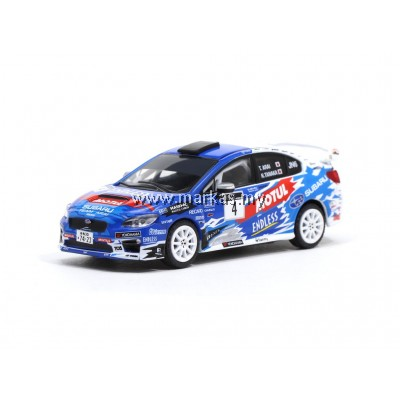 TARMAC WORKS 1/64 SUBARU IMPREZA WRX STI ALL JAPAN RALLY CHAMPIONSHIP 2016