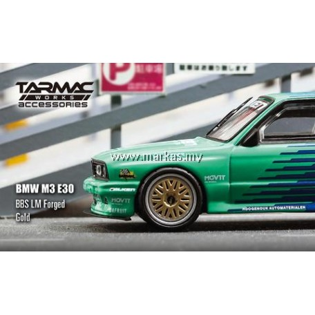 TARMAC WORKS 1/64 ACCESSORIES BBS LM FORGED GOLD