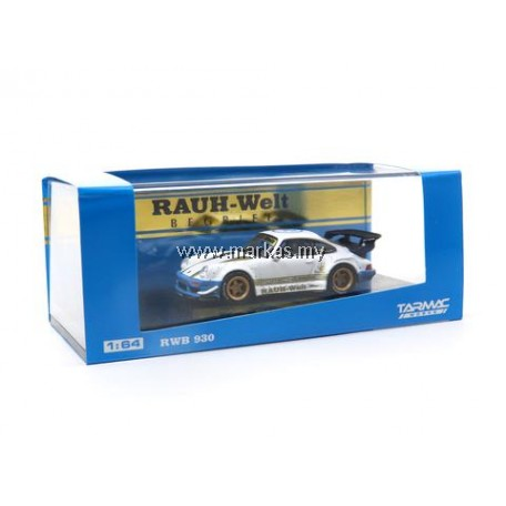 LOT TARMAC WORKS 1/64 PORSCHE RWB 930 BLUE WHITE & TARMAC WORKS 1/64 SELECTION (A1-A6)