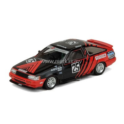 INNO MODELS INNO64 1/64 TOYOTA COROLLA LEVIN AE86 #25 ADVAN - INTER TEC CLASS WINNER 1985