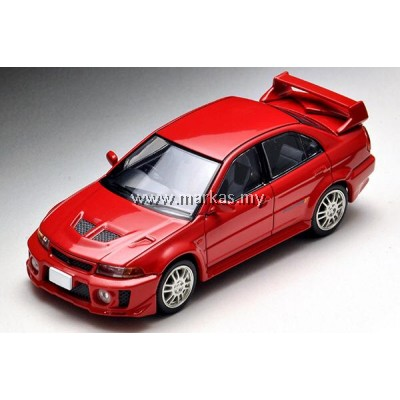 (PO) TOMICA LIMITED VINTAGE 1/64 LV-N187B MITSUBISHI GSR LANCER EVOLUTION V (RED)