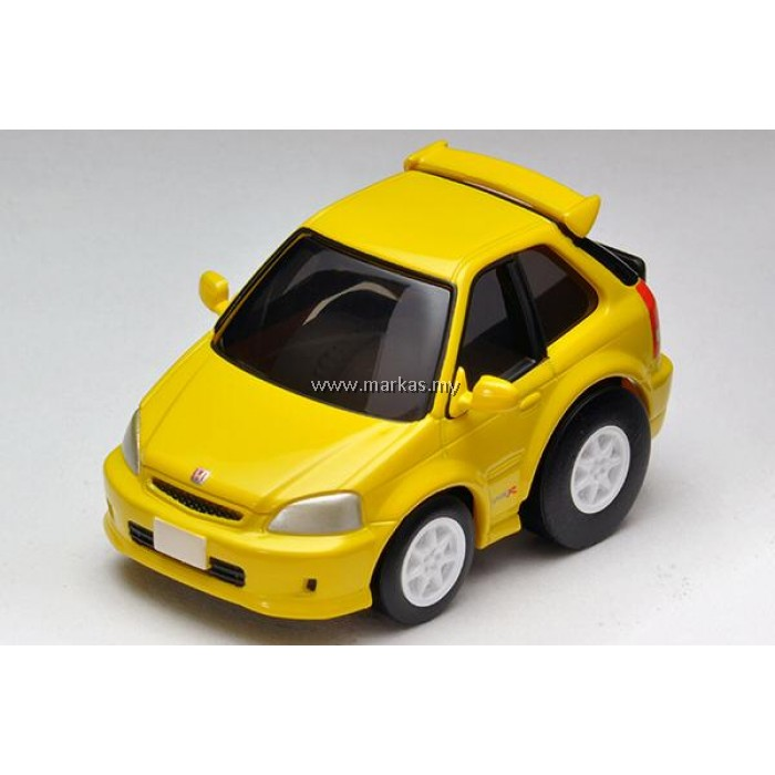 (PO) CHORO Q ZERO 1/64 Z-62B HONDA CIVIC TYPE R EK9 (YELLOW)