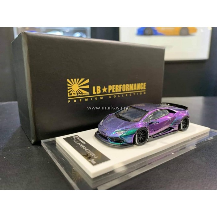 LB PERFORMANCE PREMIUM COLLECTION LIBERTY WALK 1/64 HURACAN LB 610 ANDROMEDA