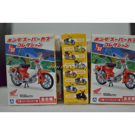 AOSHIMA BLIND TOY 1/32 HONDA SUPER CUB COLLECTION