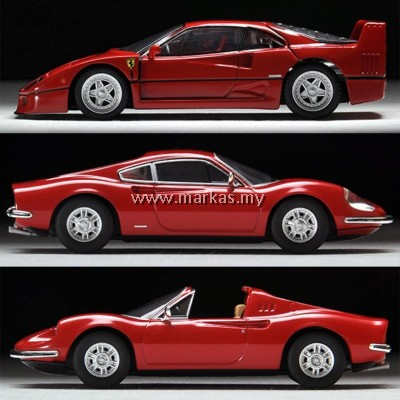 TOMICA LIMITED VINTAGE 1/64 FERRARI LOT (3 UNITS) LIMITED UNITS