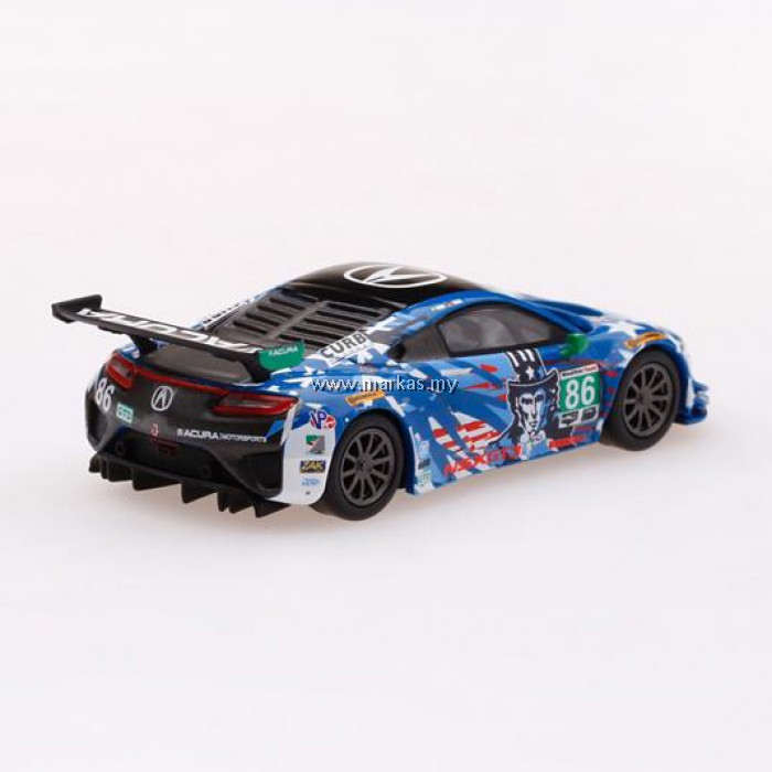 "(PO) MINI GT 1/64 ACURA NSX GT3 #86 ""UNCLE SAM"" 2017 IMSA"