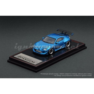 IGNITION MODEL 1/64 PANDEM TOYOTA 86 V3 BLUE METALLIC