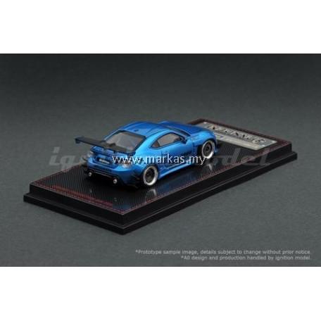 IGNITION MODEL 1/64 1403 PANDEM TOYOTA 86 V3 BLUE METALLIC