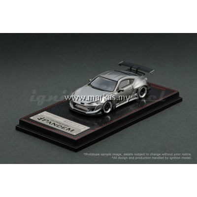 IGNITION MODEL 1/64 PANDEM TOYOTA 86 V3 GREY METALLIC