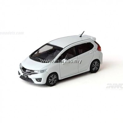 INNO MODELS INNO64 1/64 HONDA FIT 3 RS WHITE W/ SEPERATE DECALS & WHEELS