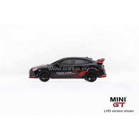 MINI GT 1/64 #23 HONDA CIVIC TYPE R (FK8) CUSTOMER STUDY RACING (RHD)