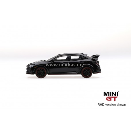 MINI GT 1/64 #15 HONDA CIVIC TYPE R FK8 CRYSTAL BLACK (RHD)