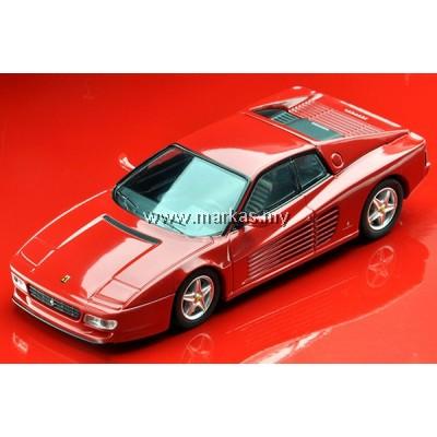 (PO) TOMICA LIMITED VINTAGE 1/64 FERRARI 512 TR (RED)
