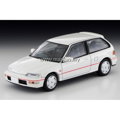 (PO) TOMICA LIMITED VINTAGE 1/64 LV-N182B HONDA CIVIC SiR II (WHITE)