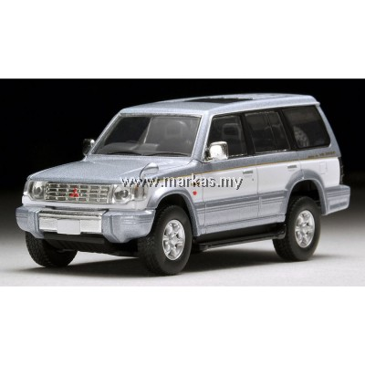 (PO) TOMICA LIMITED VINTAGE LV-N189A MITSUBISHI PAJERO SUPER EXCEED Z (SILVER/WHITE)