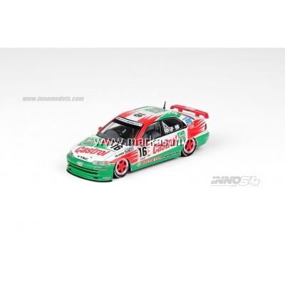 (PO) INNO MODELS INNO64 1/64 HONDA CIVIC FERIO GR.A #16 CASTROL MUGEN JAPAN TOURING CAR CHAMPIONSHIP 1995