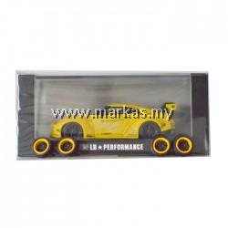 LB PERFORMANCE 1/64 LIBERTY WALK NISSAN GT-R R35 YELLOW
