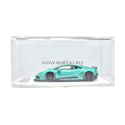 LB PERFORMANCE PREMIUM COLLECTION LIBERTY WALK 1/64 HURACAN LB 610 TIFFANY BLUE