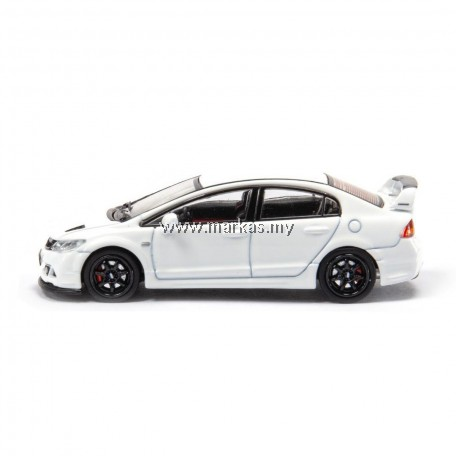 INNO MODELS INNO64 1/64 HONDA CIVIC TYPE R FD2 MUGEN RR WHITE (TOYSOUL EXCLUSIVE) *NO STICKER REQUIRED