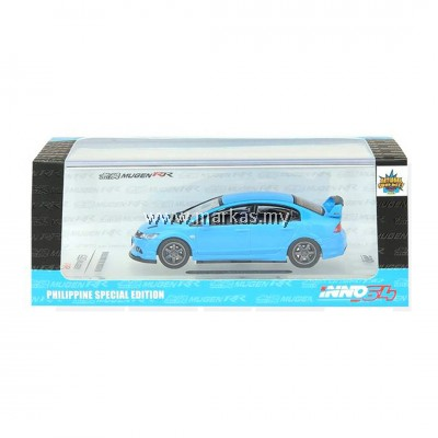 INNO MODELS INNO64 1/64 HONDA CIVIC TYPE R FD2 MUGEN BABY BLUE PHILIPPINE SPECIAL MODEL *NO STICKER REQUIRED