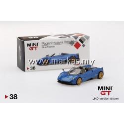 MINI GT 1/64 #38 PAGANI HUAYRA ROADSTER BLUE FRANCIA (RHD)
