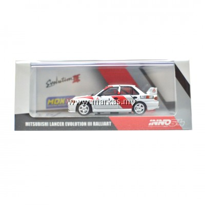 INNO MODELS INNO64 1/64 MDX 2019 EXCLUSIVE MITSUBISHI LANCER EVOLUTION III RALLIART