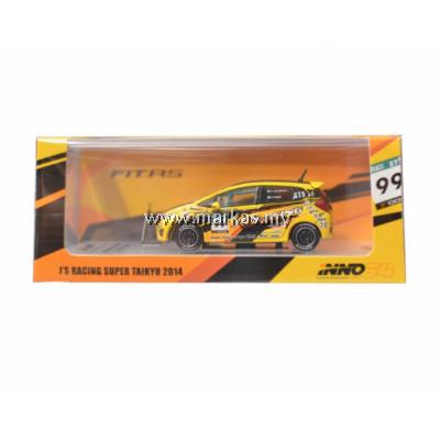 INNO MODELS INNO64 1/64 CHINA EXCLUSIVE - HONDA FIT 3 RS #99 J'S RACING SUPER TAIKYU 2014
