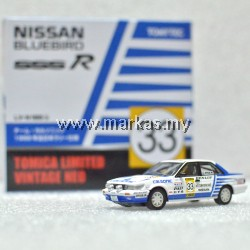 TOMICA LIMITED VINTAGE NEO LV-N185B NISSAN BLUEBIRD SSS-R ALL JAPAN RALLY CHAMPIONSHIP