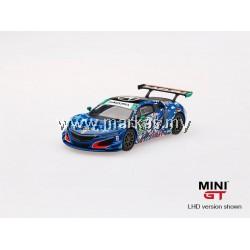 "(PO) MINI GT 1/64 #93 ACURA NSX GT3 ""STATUE OF LIBERTY"" (RHD)"