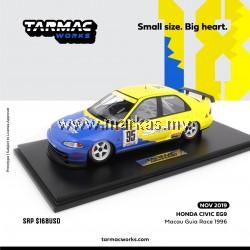 (PO) TARMAC WORKS 1/18 HONDA CIVIC EG9 MACAU GUIA RACE 1996