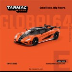 (PO) TARMAC WORKS GLOBAL64 1/64 KOENIGSEGG AGERA RS ORANGE/BLACK