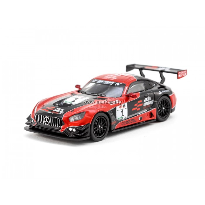 TARMAC WORKS 1/64 MERCEDES-AMG GT3 ERACING GRAND PRIX HONG KONG SPECIAL EDITION
