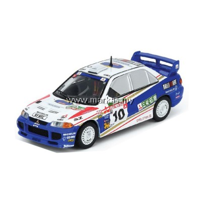 (PO) INNO MODELS INNO64 1/64 MITSUBISHI LANCER EVOLUTION III #10 NEW ZEALAND RALLY 1995