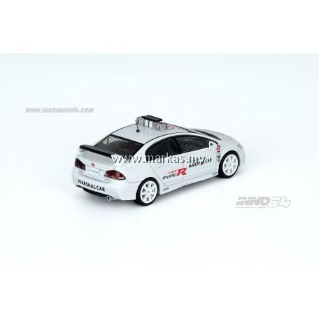 (PO) INNO MODELS INNO64 1/64 HONDA CIVIC TYPE-R FD2 SUZUKA CIRCUIT MARSHAL CAR