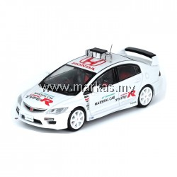 (PO) INNO MODELS INNO64 1/64 HONDA CIVIC TYPE-R FD2 SUZUKA CIRCUIT MARSHAL CAR