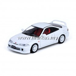 INNO MODELS INNO64 1/64 HONDA INTEGRA TYPE-R DC2 WHITE W/ EXTRA WHEELS & DECALS