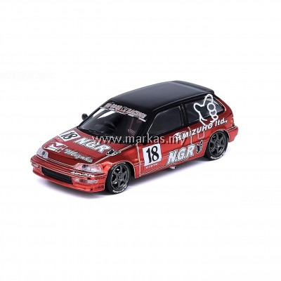 INNO MODELS INNO64 1/64 HONDA CIVIC EF9 MIZUHO NO GOOD RACING JDM COLLECTION