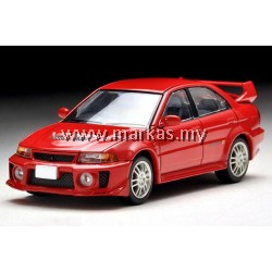 TOMICA LIMITED VINTAGE 1/64 LV-N187B MITSUBISHI GSR LANCER EVOLUTION V (RED)