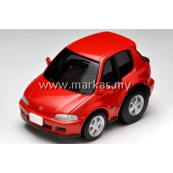 CHORO Q ZERO 1/64 Z-61A HONDA CIVIC SIR II EG6 (RED)