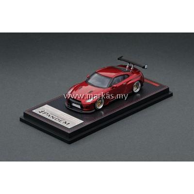 IGNITION MODEL 1/64 1746 PANDEM R35 GT-R RED METALLIC
