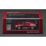 (PO) IGNITION MODEL 1/64 PANDEM TOYOTA 86 V3 RED METALLIC