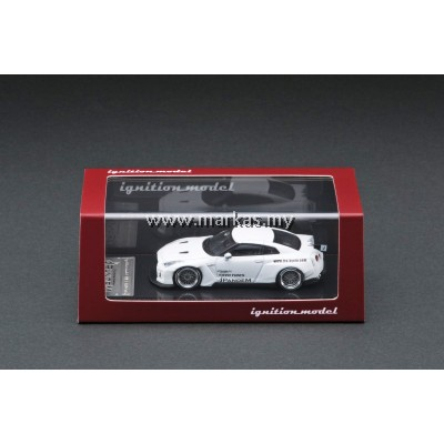 (PO) IGNITION MODEL 1/64 PANDEM R35 GT-R WHITE