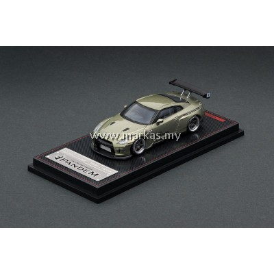 IGNITION MODEL 1/64 1748 PANDEM R35 GT-R GREEN METALLIC