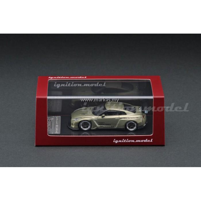 (PO) IGNITION MODEL 1/64 PANDEM R35 GT-R GREEN METALLIC