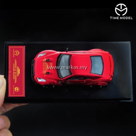(PO) TIME MODEL LB PERFORMANCE 1/64 LB WORKS GT-R (R35) CHINA DRAGON SPECIAL EDITION DUCKTAIL (MATTE RED)