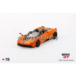 (PO) MINI GT 1/64 #78 MCLAREN SENNA ORANGE/WHITE (RHD)