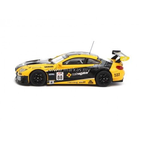 TARMAC WORKS 1/64 BMW M6 GT3 ERACING GRAND PRIX HONG KONG